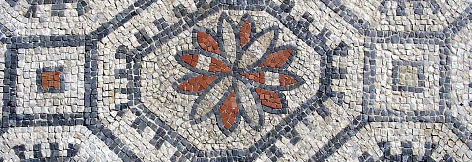 mosaico casa romana santa pola