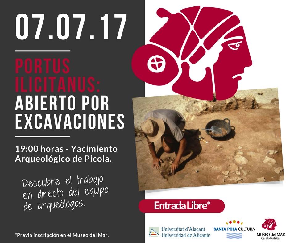 cartel excavaciones