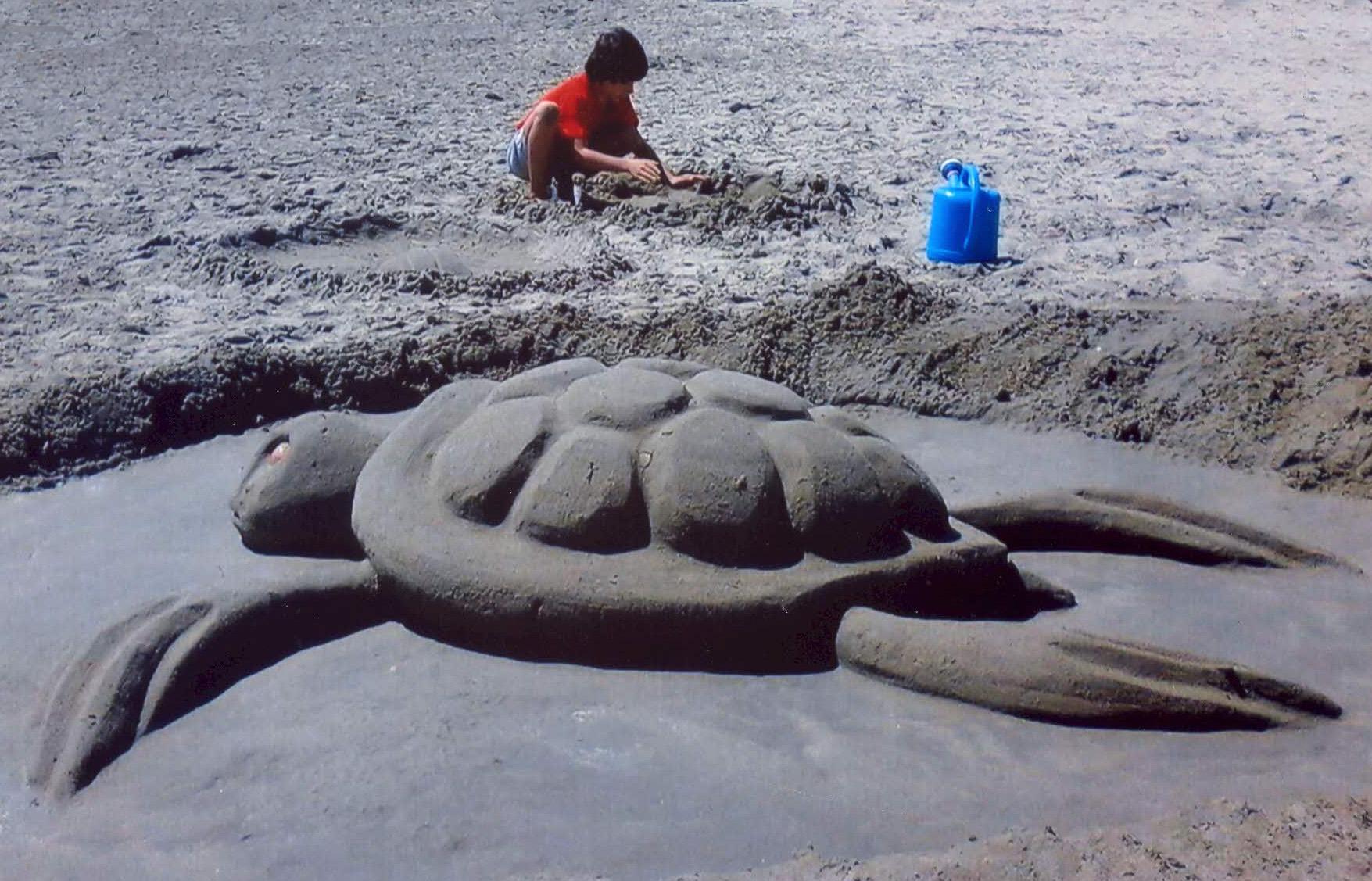 taller escultura arena
