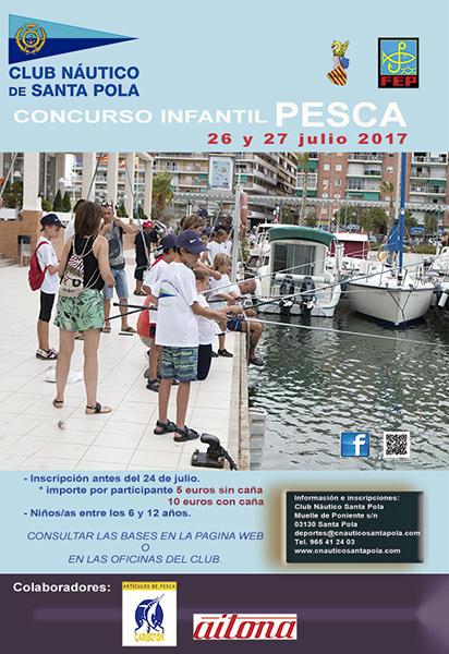 cartel concurso pesca