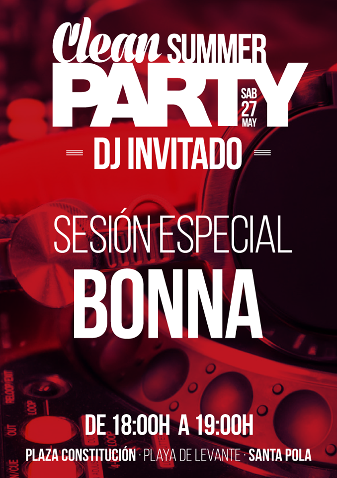 cleansummerparty especial