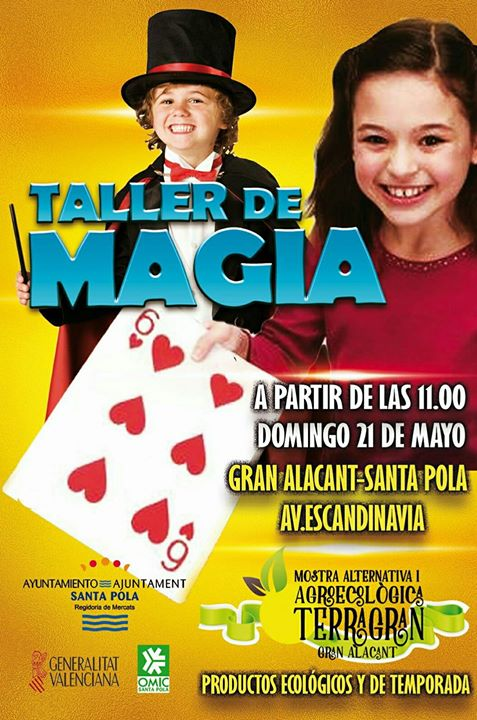 Cartel taller magia TerraGran