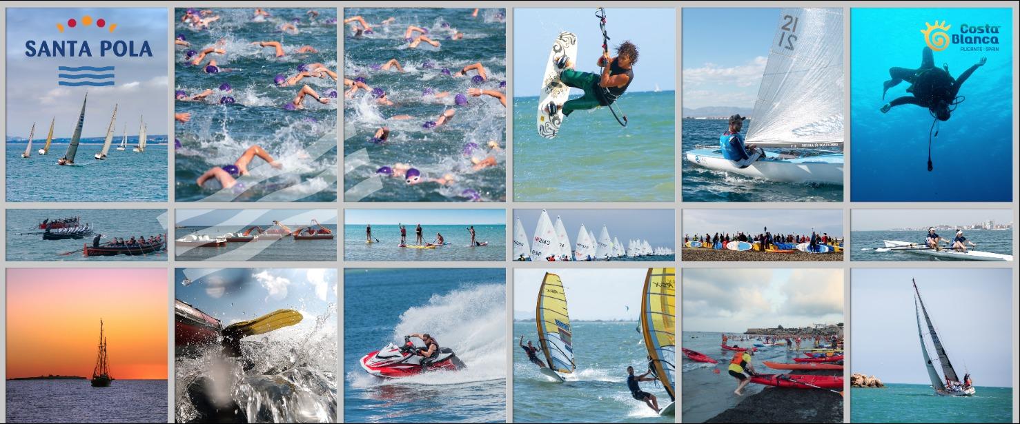 Santa Pola actividades náuticas