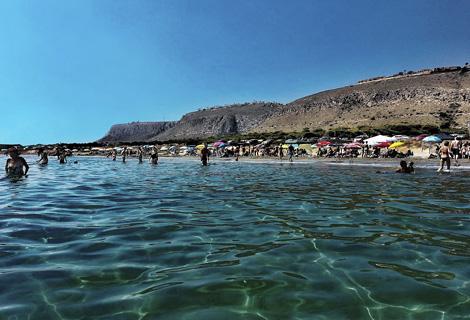 Playa de la ermita santa pola tourist info excmo - Mar de cristal santa pola ...