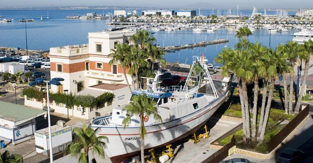 Barco Museo Santa Pola